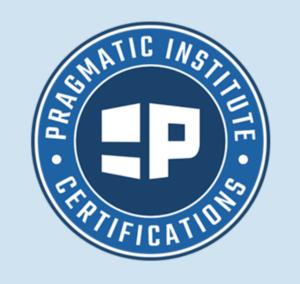 pragmatic institute product certification